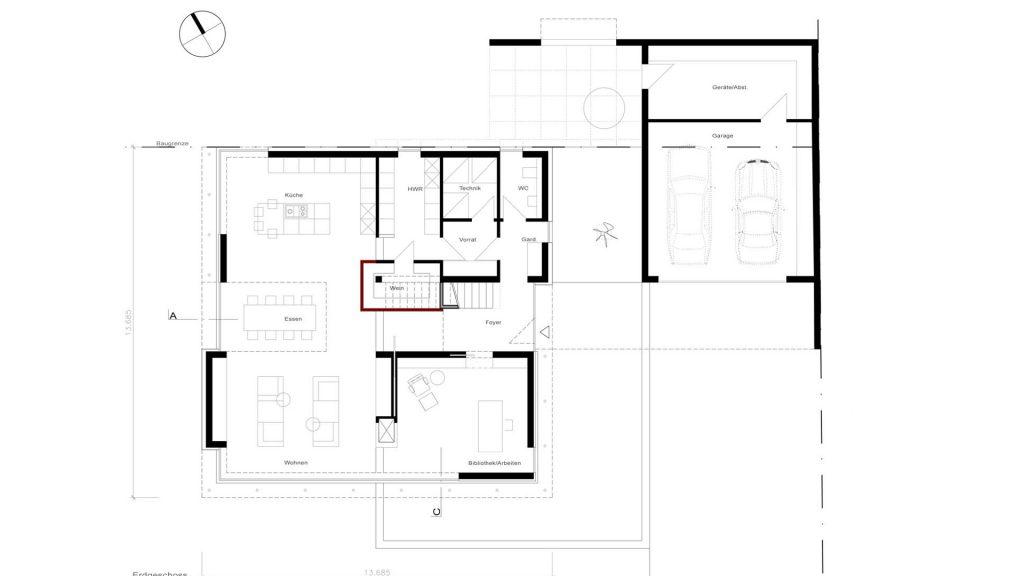 Haus W_Grundriss